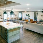 Reclaimed Wood Planked Reset Ceiling {Be Like Joanna}
