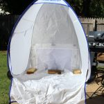 The HomeRight Small Spray Shelter