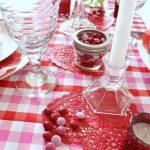 Valentine's Day Table for Family Dinner 2017