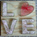 DIY LOVE String Art