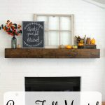 Cozy Fall Mantel