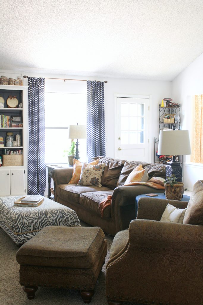 Fall family room home tour