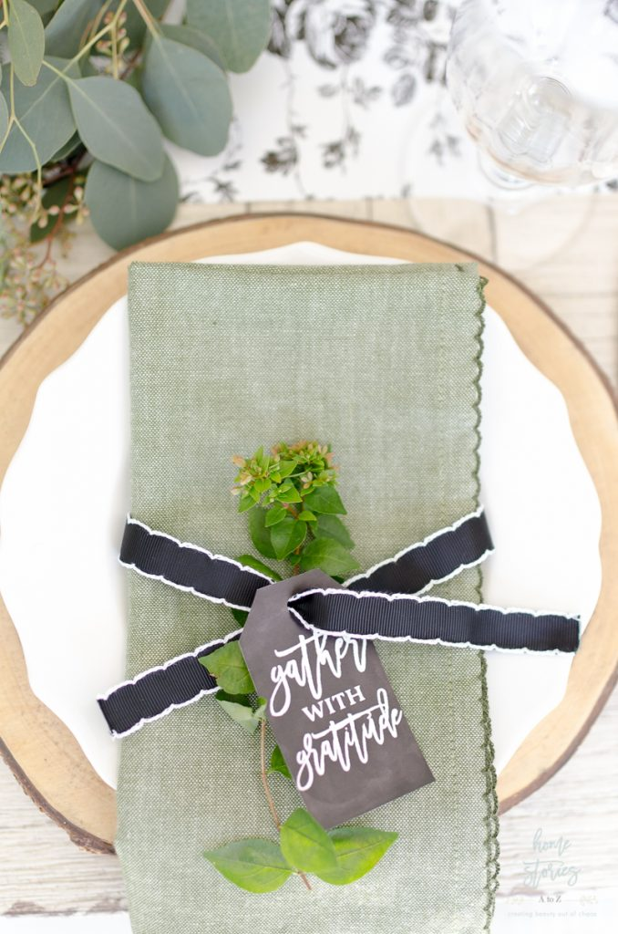 Home Stories A to Z fall tablescape