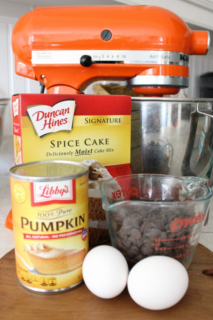 Pumpkin Spice Chocolate Chip Muffins Ingredients