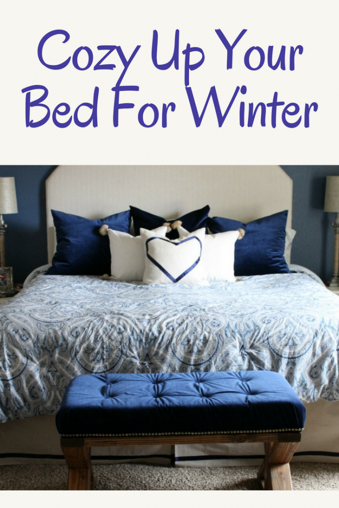 Cozy up your bed for winter
