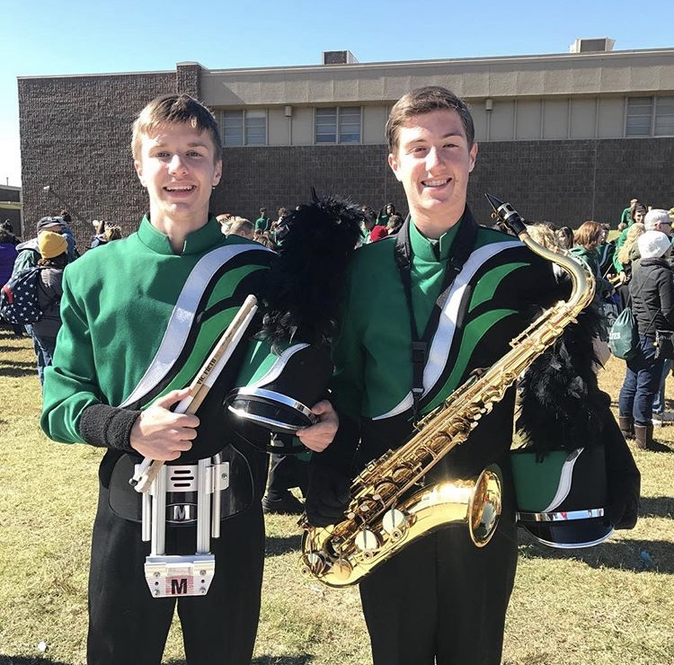 My boys in the band