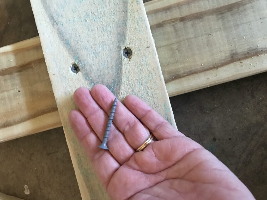 screws used to build trees