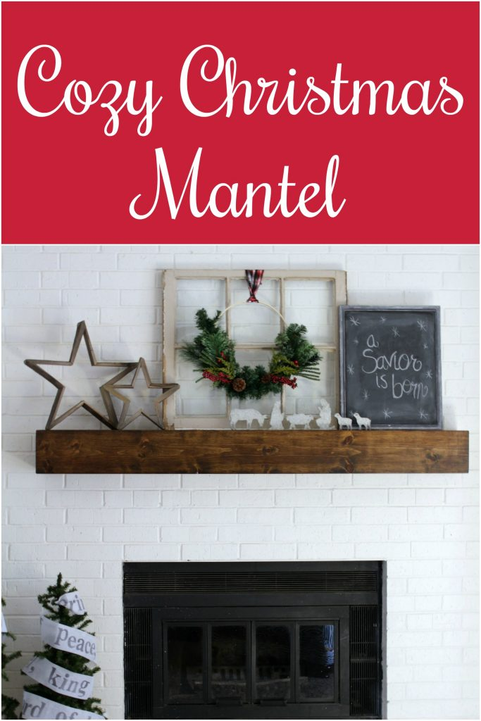 Cozy Christmas Mantel