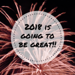 Goals For 2018 at frazzled JOY