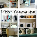 Kitchen Organization Round Up