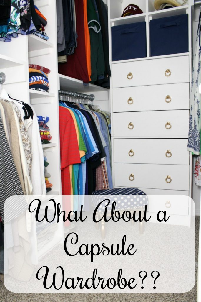 What About a Capsule Wardrobe??