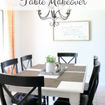 Another Furniture Makeover – The Kitchen Table