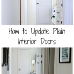 How To Dress Up Plain Interior Doors