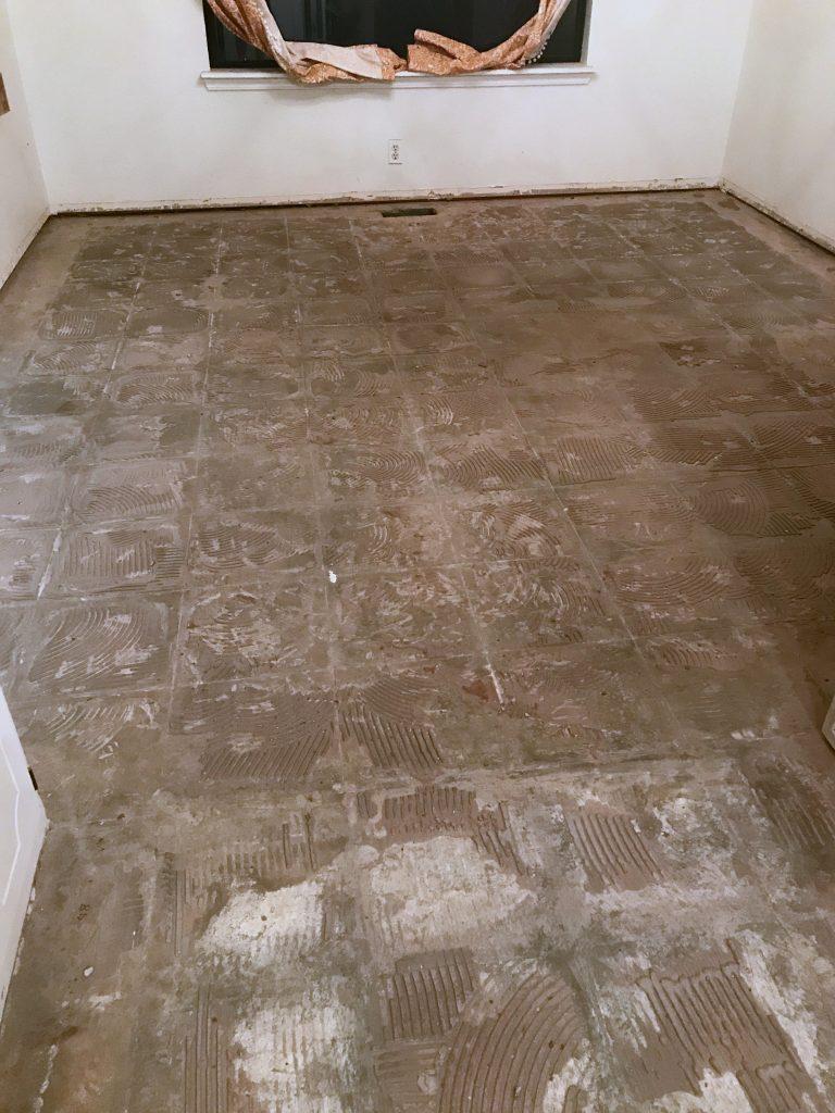 Tile floor demo