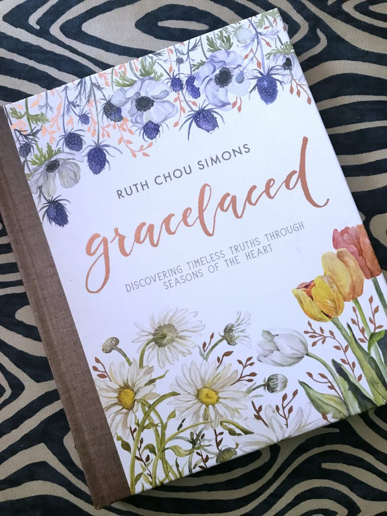 Gracelaced by Ruth Chou Simons lovely daily devotional book