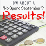 No Spend September Update – How'd We Do?