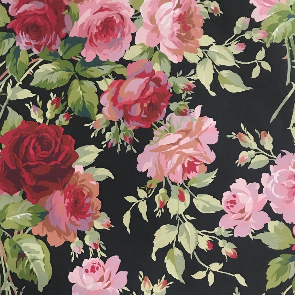Floral scrapbook paper to pull everything together