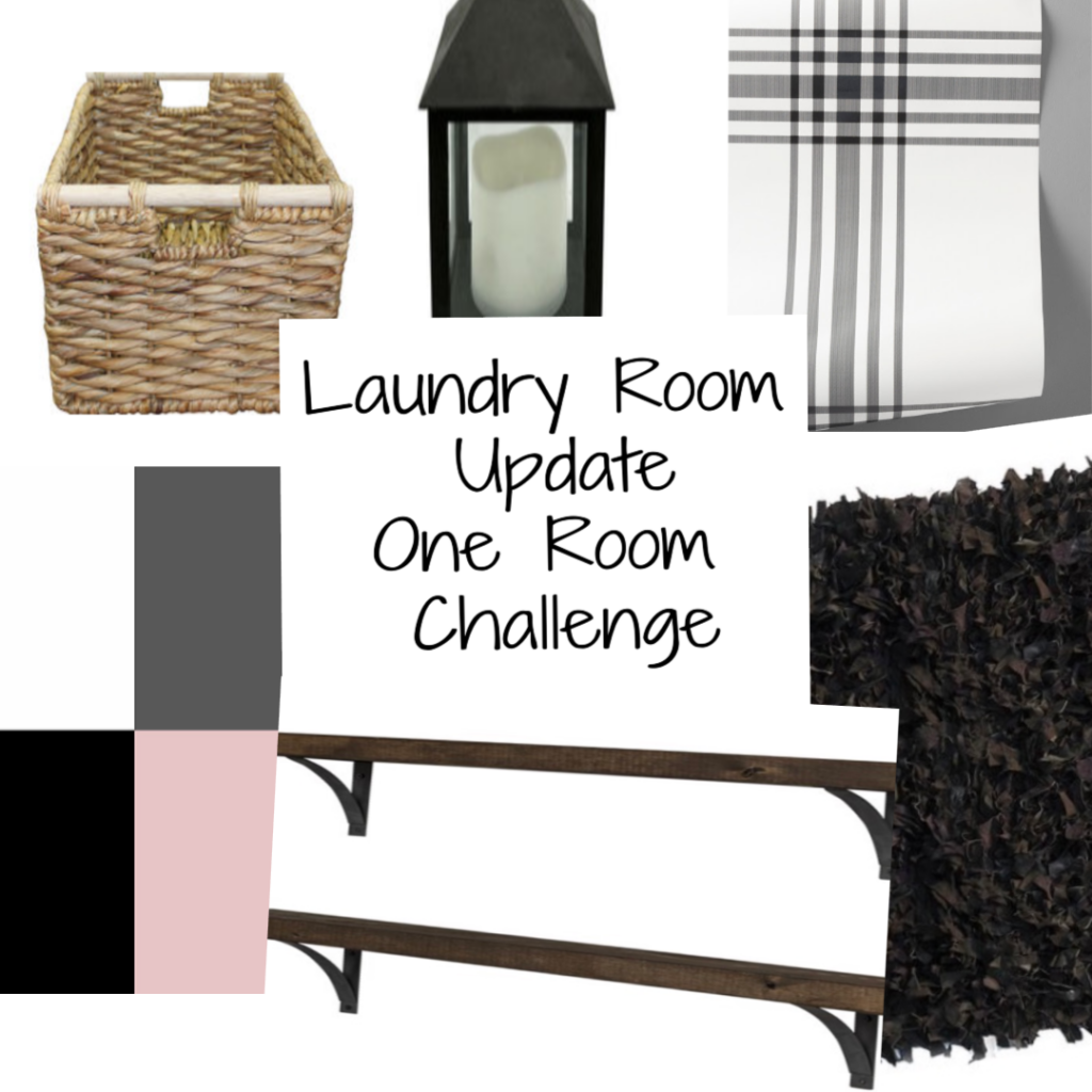 Laundry Room One Room Challenge Mood Board