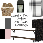 One Room Challenge Week Two – Laundry Room Plan