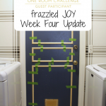 One Room Challenge Week Four – Laundry Room Update