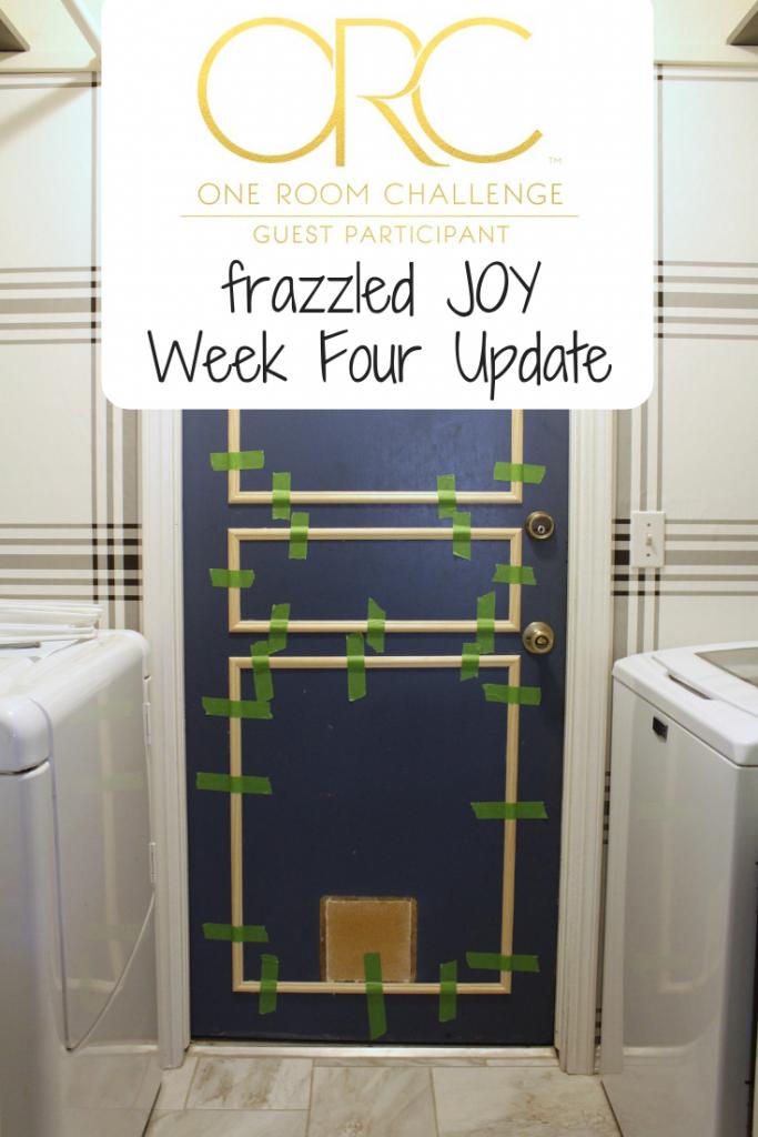One Room Challenge Week Four Update