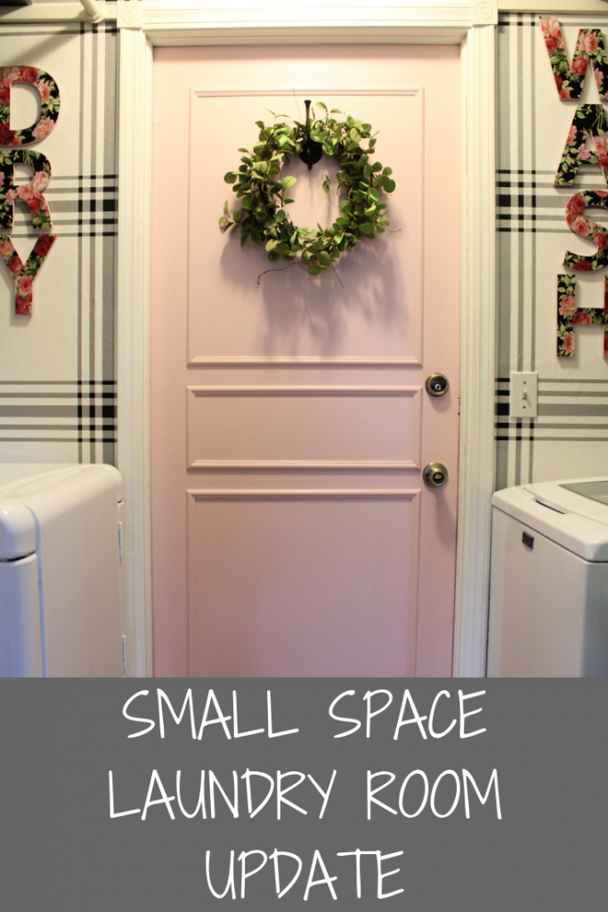 Small Space Laundry Room Update