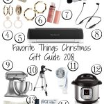 Favorite Things Christmas Gift Guide 2018