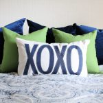 DIY XOXO Pillow Cover