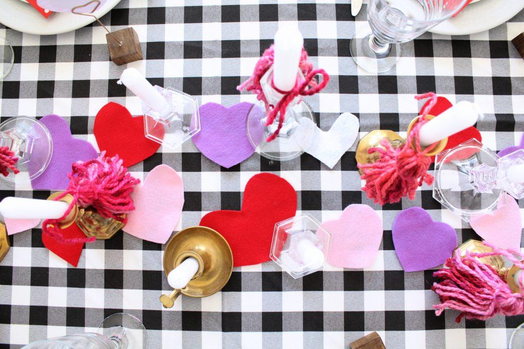 Valentine's Day Table centerpiece
