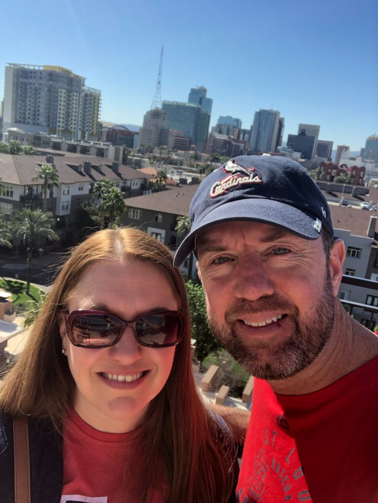 Hubby and I in Phoenix