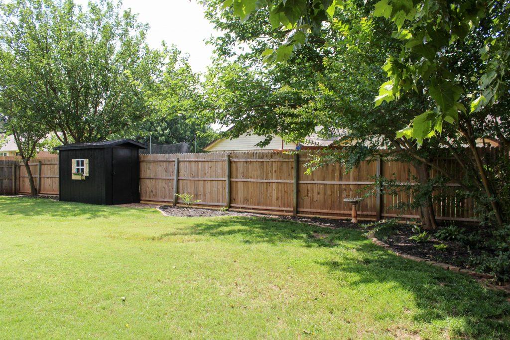 Backyard Spruce-Up