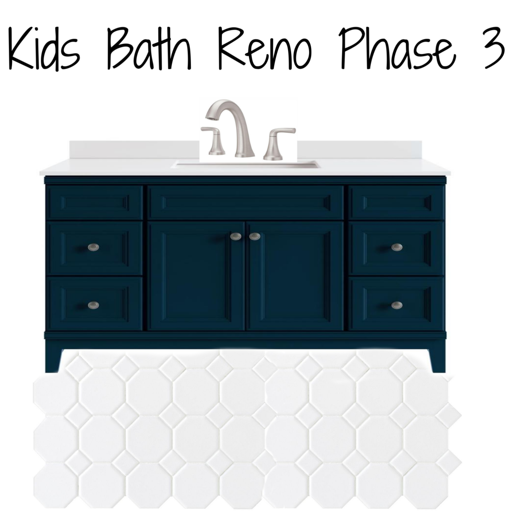 Kids Bath Reno Phase 3 Plan