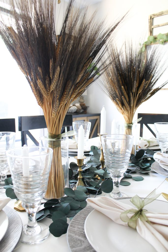 Natural Fall Tablescape
