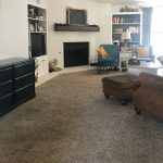 New Laminate Floors in the Family Room