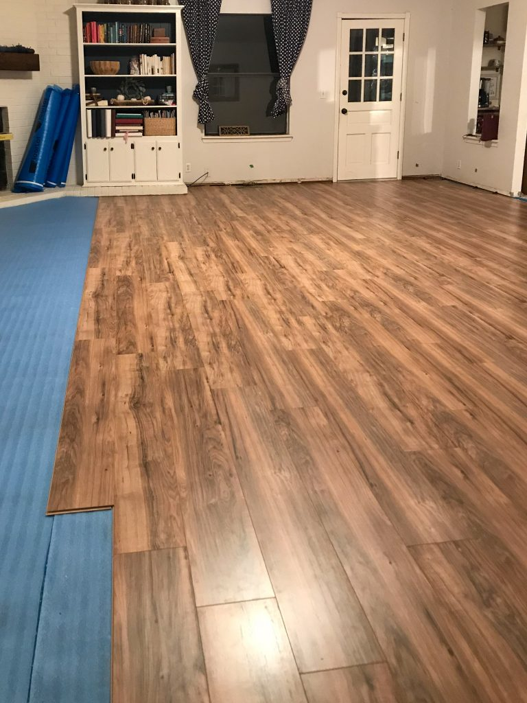 New Laminate Flooring Installation