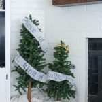 Woodland Christmas Mantel