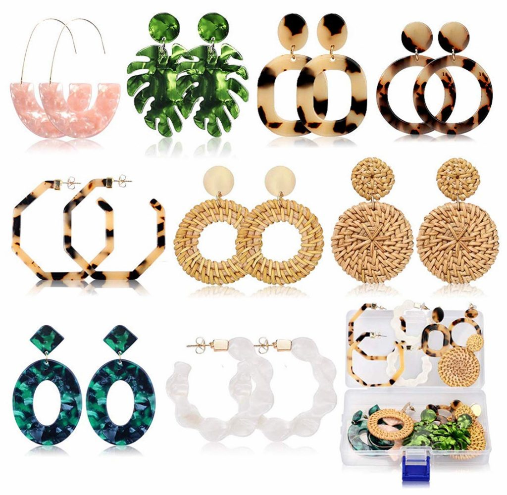 Fashion Earrings set for spring and summer