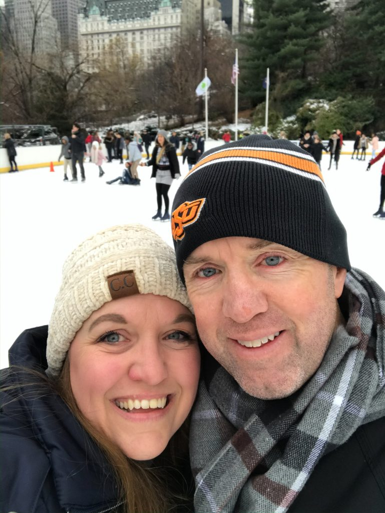 Ice Skating at Central Park