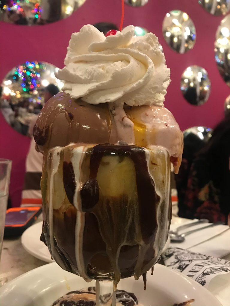 Sundae from Serendipity