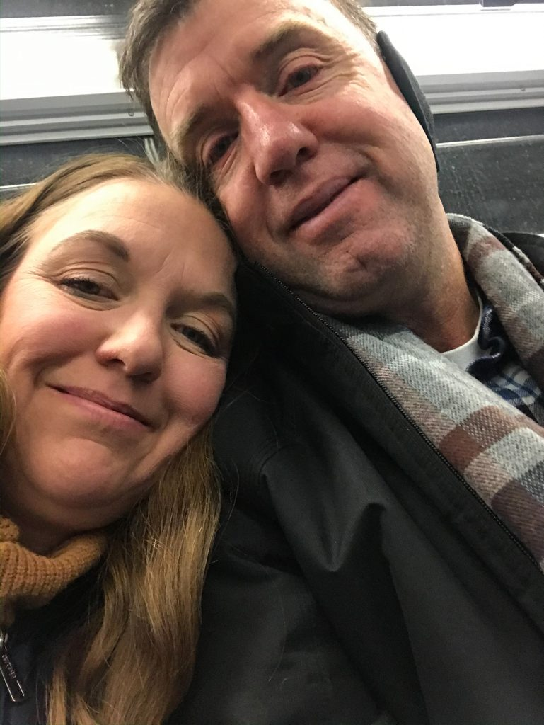 Tired Subway Riders