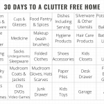 30 Days to a Clutter Free Home
