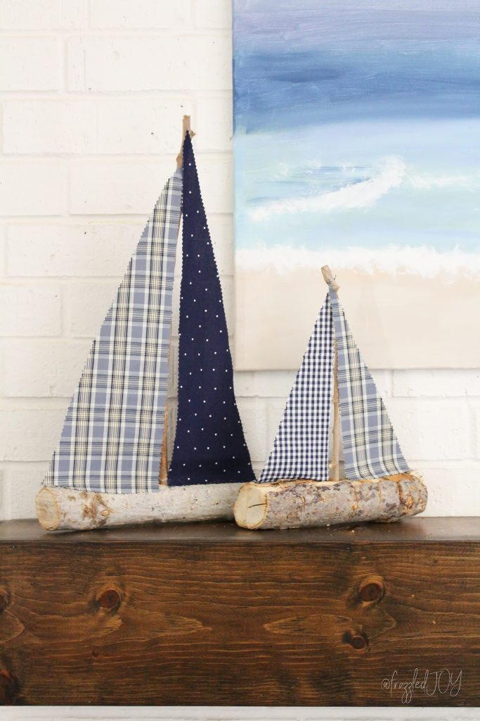 DIY Sailboat Craft
