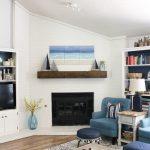 Summertime Beach Inspired Mantel