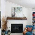Fallish Mantel Decor