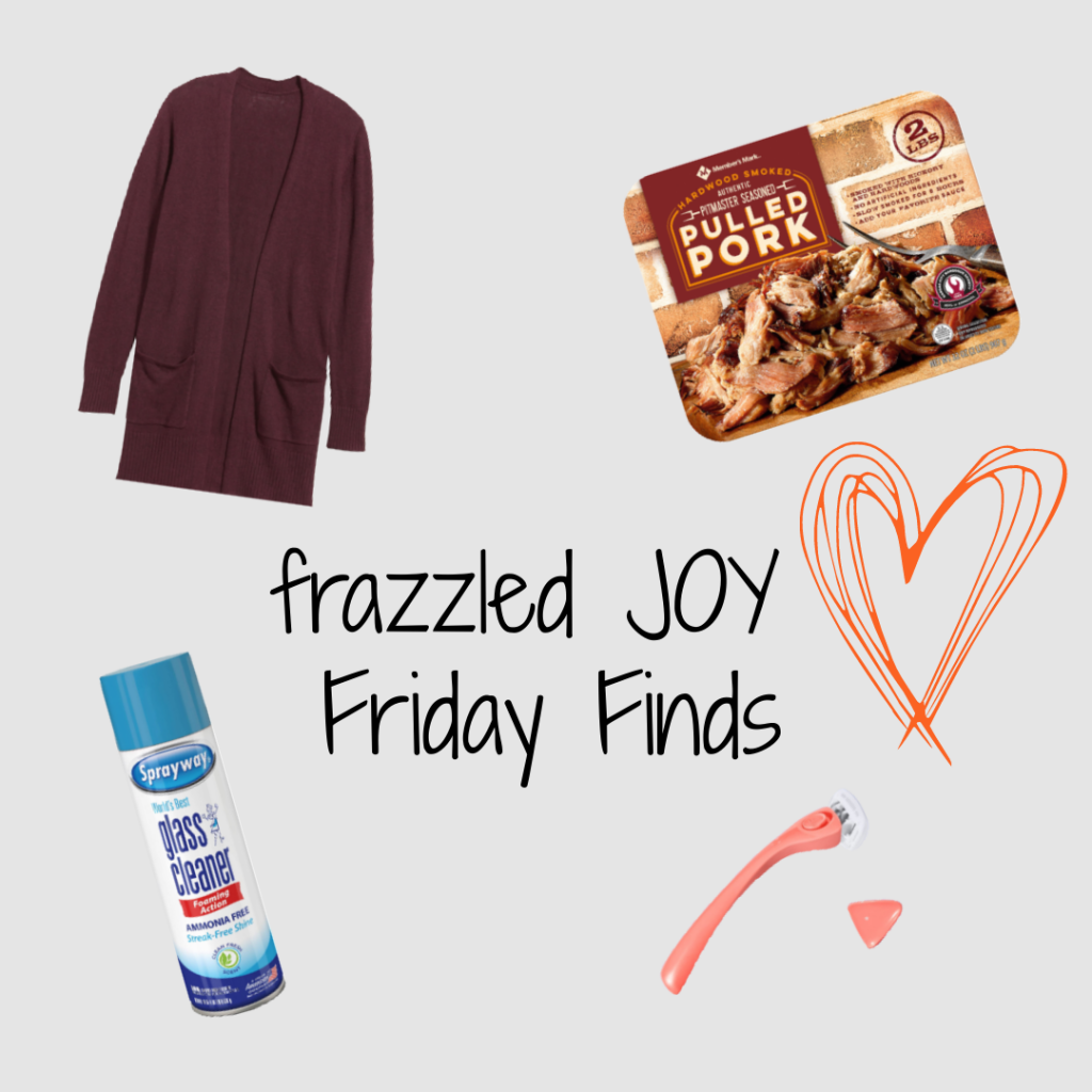 frazzled JOY Friday Finds 9.4.20