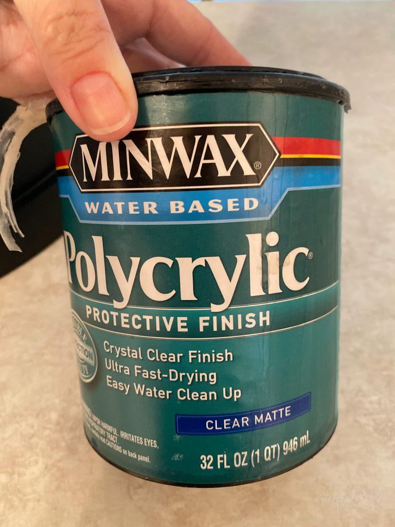Polycrylic Sealer