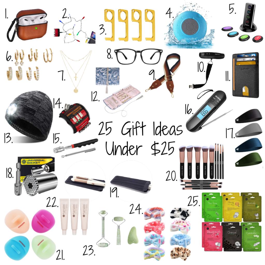 25 Gift Ideas Under $25